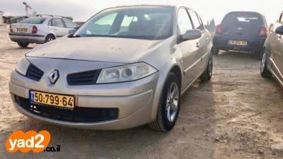 מעולה  רכב רנו רנו מגאן דור 2 (2004-2010) (2008) למכירה מודעה 7789961 - ad CI-13