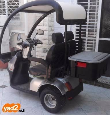 מפוארת קלנועית זוגית 3 גלגלים (גלגלים ציוד סיעודי/ רפואי יד שניה - ad OM-54