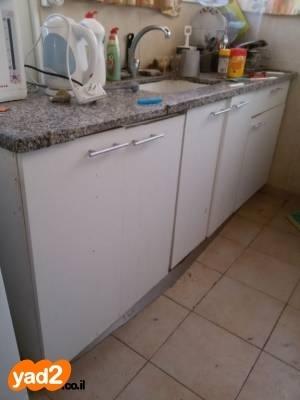 מאוד שיש 2 מטר למטבח עם כיור ריהוט מטבח יד שניה - ad DE-09