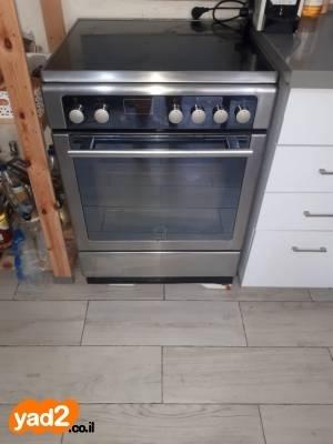 מודרניסטית תנור משולב כיריים קרמיות (חשמלי) מוצרי-חשמל אפייה Scholtes יד שניה JB-83