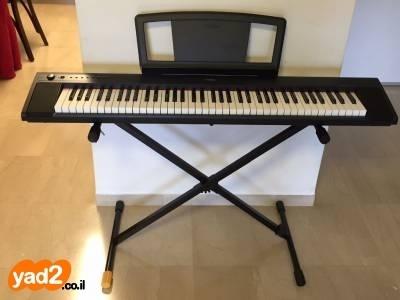 פנטסטי פסנתר חשמלי YAMAHA דגם NP-31 כלי נגינה קלידים יד שניה - ad PM-82