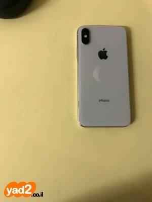 טוב מאוד אייפון איקס 256 גיגה לבן סלולרי מכשיר Apple יד שניה - ad YN-24