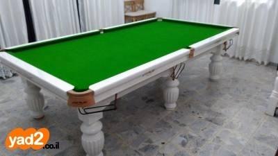 האופנה האופנתית שולחן סנוקר מקצועי של טופ-ריילי,עץ ספורט שולחנות משחק יד שניה - ad MC-72