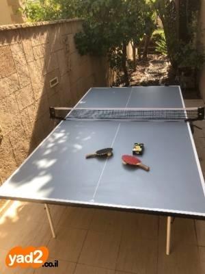 מגניב ביותר שולחן פינג פונג חוץ בצבע ספורט שולחנות משחק טניס יד שניה - ad DU-67