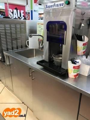 מיוחדים למכירה תכולת גלידריה כולל מכונות ציוד לעסקים למסעדות/בתי קפה יד GB-08