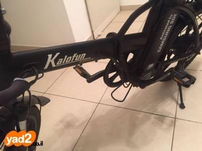 מבריק אופני kalofun luxury 36V במצב מעולה! אופניים חשמליים יד שניה - ad ZZ-88
