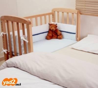 נפלאות עריסה מתחברת של מיטונת במצב לתינוק ולילד מיטות ולולים יד שניה - ad GL-22